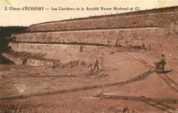 ECHOISY CHAUX LES CARRIERES DE LA SOCIETE VEUVE MODENEL ET CIE - Otros Municipios