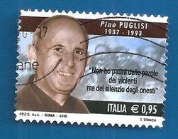 2018 ITALIA Don Pino Puglisi - 0,95 Usato - 6. 1946-.. Repubblica