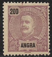 Angra – 1897 King Carlos 200 Réis - Angra