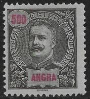 Angra – 1897 King Carlos 500 Réis - Angra