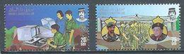 Brunéi YT°350-352 Forces Armées Du Sultanat Neuf ** - Brunei (1984-...)