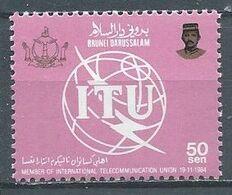 Brunéi YT°347 Union Internationale Des Télécommunications Neuf ** - Brunei (1984-...)