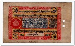 TIBET,5 SRANG,1942-46,P.8,VF - Bankbiljetten