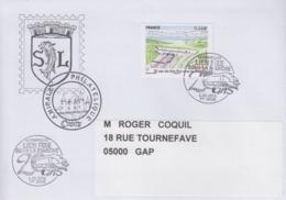 Enveloppe   Oblitération  1er  Jour    FRANCE   20  Ans  Du   Lien  Fixe  Sous   La  Manche   COQUELLES   2014 - 2010-....