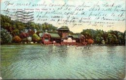 New York Albany Washington Park The Lake House 1910 - Albany