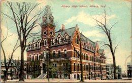 New York Albany High School 1911 - Albany
