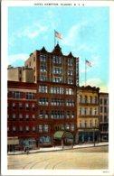 New York Albany Hotel Hampton Curteich - Albany