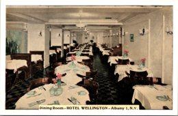 New York Albany Hotel Wellington Dining Room - Albany
