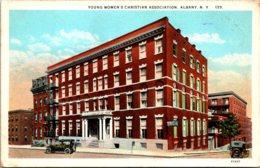 New York Albany Y W C A Building Curteich - Albany