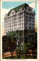 New York Albany Bell Telephone Building 1920 Curteich - Albany