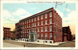 New York Albany Y W C A Building 1951 Curteich - Albany