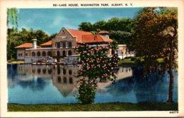 New York Albany Washington Park Lake House - Albany