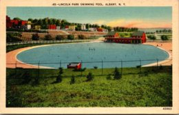 New York Albany Lincoln Park Swimming Pool - Albany