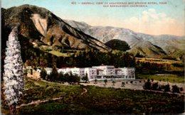 California San Bernardino General View Of Arrowhead Hot Springs Hotel - San Bernardino