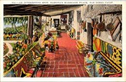 California San Diego Ramona's Marriage Place An Interesting Spot - San Diego