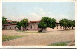 California San Diego Old Town Ramona's Marriage Place Detroit Publishing - San Diego