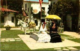 California Santa Barbara Fiesta Time - Santa Barbara