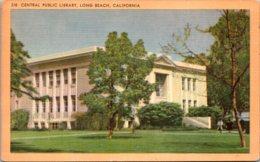 California Long Beach Central Public Library 1951 - Long Beach