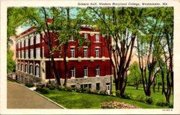 Maryland Westminster Science Hall Western Maryland College Curteich - Etats-Unis