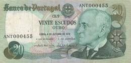 Portugal : 20 Escudos 1978 Moyen état - Portugal