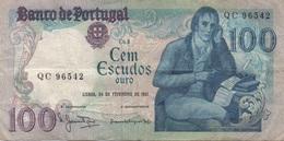 Portugal : 100 Escudos 1981 Moyen état - Portugal