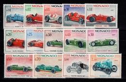Monaco - YV 708 à 721 N** Voitures Cote 24 Euros - Unused Stamps