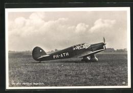 AK Flugzeug Vom Typ PH-ATH Percival Vega Gull - Unclassified