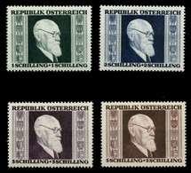 ÖSTERREICH 1946 Nr 772A-775A Postfrisch S23E15A - 1945-60 Unused Stamps