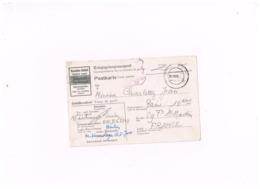 """Censure Allemande Sur Lettre Adressée à Paris.""""Kriegsgefangenenpost"""" .Stalag III D - Postmark Collection (Covers)"""