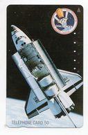 TELECARTE JAPON  NAVETTE SPATIALE NASA CHALLENGER - Spazio