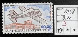 D - [835845]TB//**/Mnh-c:9e-St.Pierre Et Miquelon        - PA68,  Avions, Transports, SNC - Otros