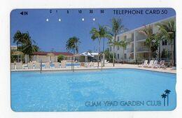 JAPON TELECARTE GUAM Palmier YPAO GARDEN CLUB - Guam