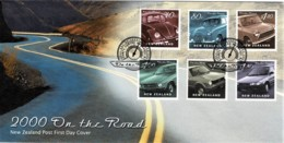 New Zealand 2000 On The Road - Cars FDC - FDC