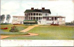 Maine Portland The Casino At Cape Cottage 1907 - Portland