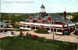 Maine Portland Riverton Park Casino 1907 - Portland
