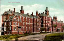 Maine Portland Maine General Hospital 1908 - Portland