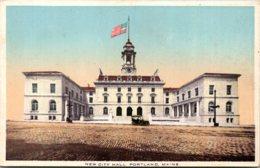 Maine Portland New City Hall - Portland