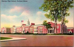 Maine Portland Deering High School - Portland