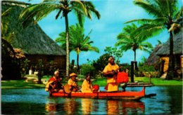 Hawaii Oahu Polynesian Cultural Center Outrigger Canoe - Oahu