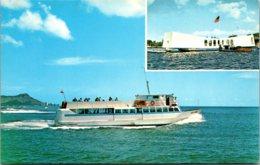 "Hawaii Oahu Pearl Harbor Machado's Pearl Harbor Cruise Yacht ""Leilani"" - Oahu"