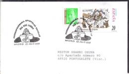 España - 1999 - Matasello Especial - Escenas De Don Quijote - Día Del Libro - A1RR2 - 1991-00 Gebraucht