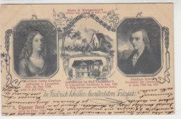 BEKANNTE PERSONEN - Zu Friedrich Schillers Hundertstem Todesjahr - 1905 Nach Bordeaux - Zoll