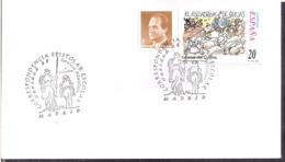 España - 1998 - Matasello Especial - Escenas De Don Quijote - Navidad 98 - A1RR2 - 1991-00 Gebraucht