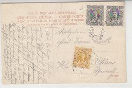 Karte Aus Montenegro 1910? Nach Wien - Montenegro
