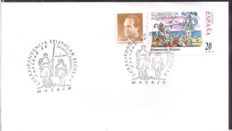 España - 1999 - Matasello Especial - Escenas De Don Quijote - Navidad 98 - A1RR2 - 1991-00 Gebraucht
