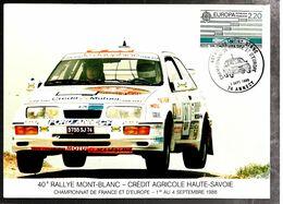 34971 - RALLYE DU MONT BLANC - Cars