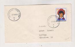 YUGOSLAVIA BEOGRAD 1966 FDC Cover Children - 1945-1992 République Fédérative Populaire De Yougoslavie
