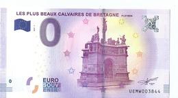 2017 BILLET TOURISTIQUE 0 Euros 29   Les Plus Beaux Calvaires De Bretagne  Port 1.50  Ne Pas Se Fier A La Numerotation - Private Proofs / Unofficial