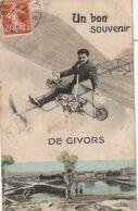 (VIR) RHONE , GIVORS   Un Bon Souvenir De Givors - Givors