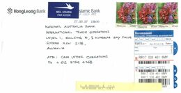 (F 15) Malaysia To Australia Stamp Cover - Sent Registered - Malaysia (1964-...)